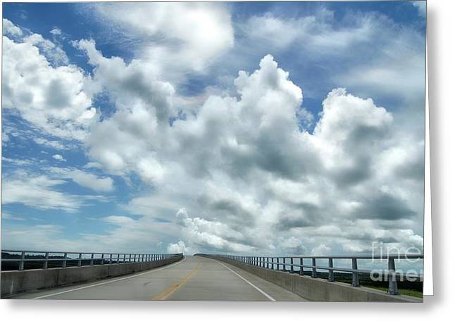 Highway To The Heavens Greeting Card