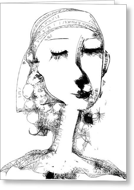 Hilda Greeting Card