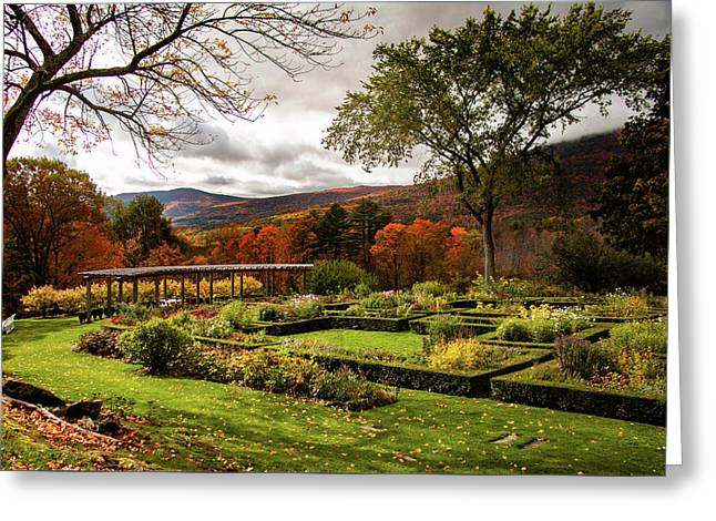 Hildene In Autumn Greeting Card by Jeff Folger