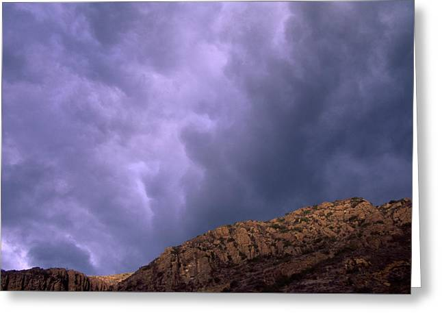 Hill Canyon Greeting Card by Soli Deo Gloria Wilderness And Wildlife Photography