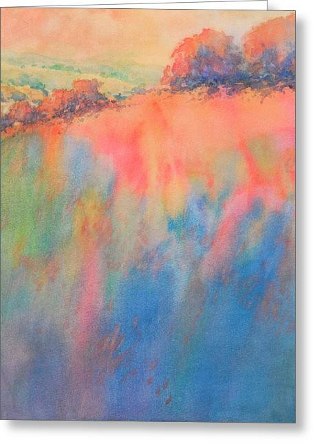 Hill Country Abstract No 1 Greeting Card