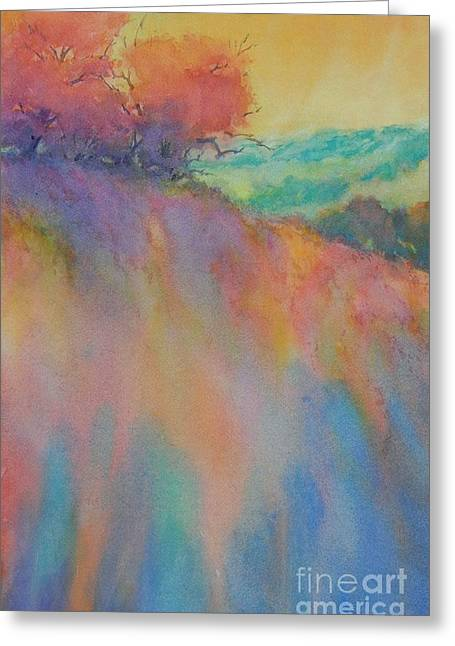 Hill Country Abstract No 10 Greeting Card