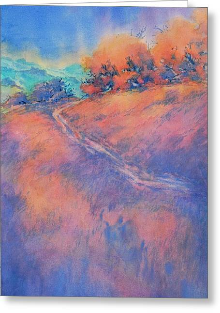 Hill Country Back Road No 2 Greeting Card