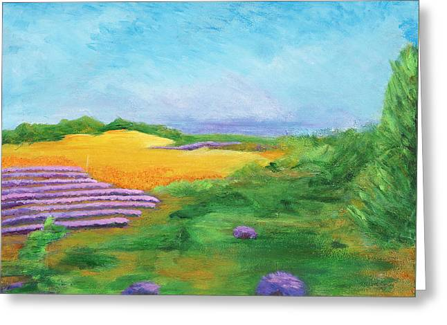 Hill Country Beauty Greeting Card