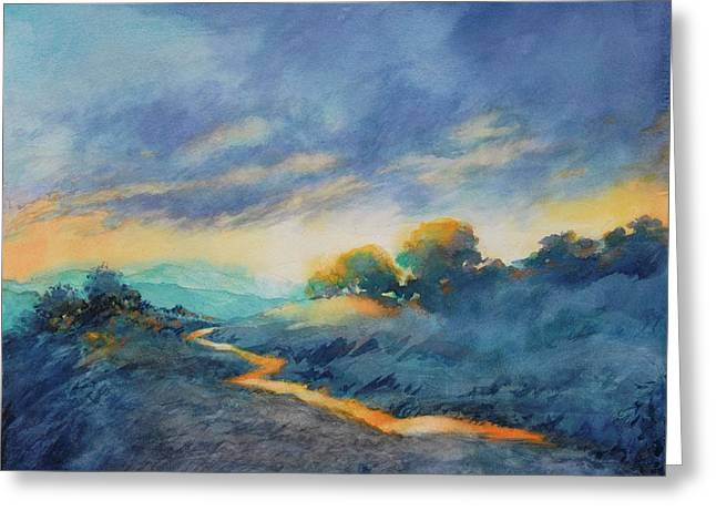 Hill Country Morning Breaks No 2 Greeting Card by Virgil Carter