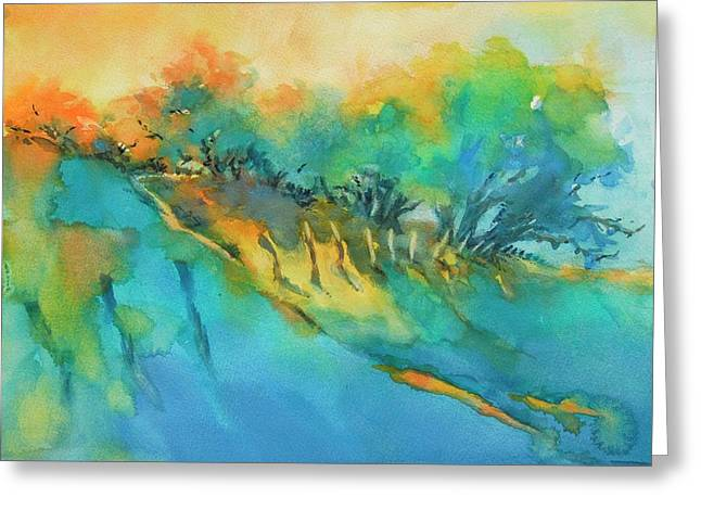 Hill Country Morning Breaks Greeting Card