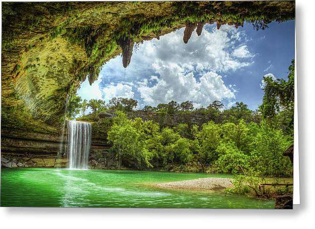 Hill Country Paradise Greeting Card by Tom Weisbrook