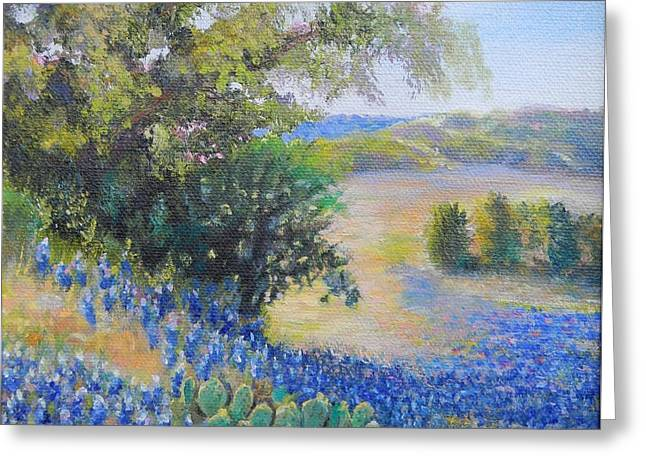 Hill Country View Greeting Card