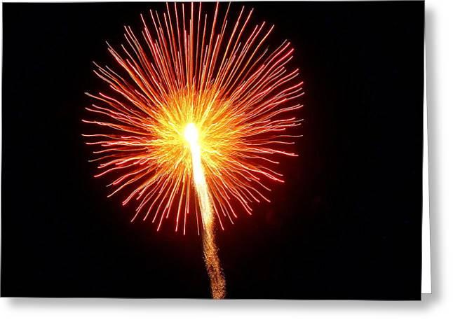 Hilliard Ohio Firework 1  Greeting Card
