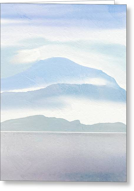 Hills In Borneo Greeting Card