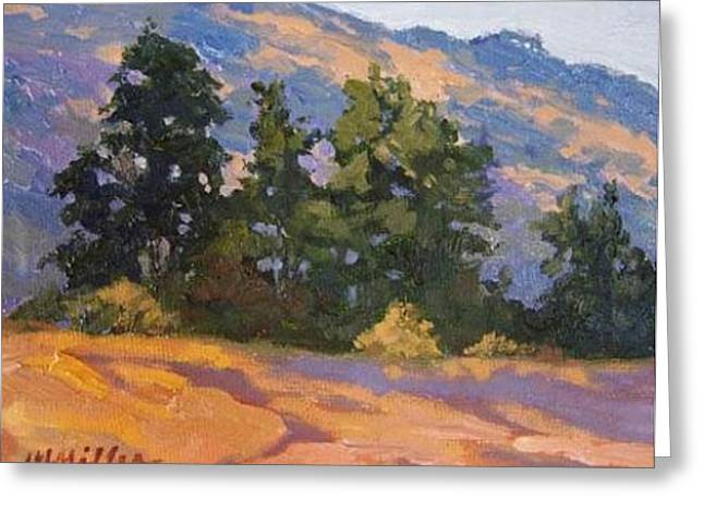 Hills Greeting Card by Maralyn Miller