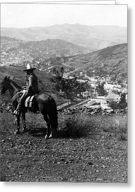 Hills Of Guanajuato - Mexico - C 1911 Greeting Card