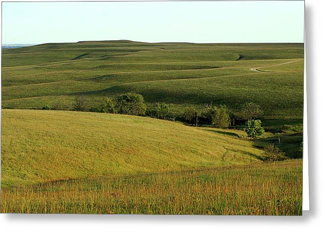 Hills Of Kansas Greeting Card