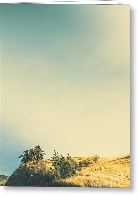 Hills Of Plenty Greeting Card by Jorgo Photography - Wall Art Gallery