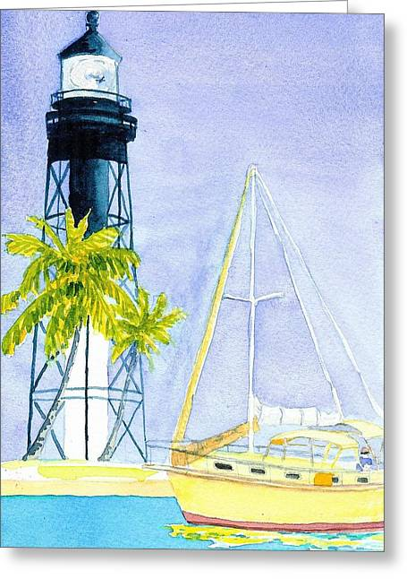 Hillsboro Inlet Greeting Card