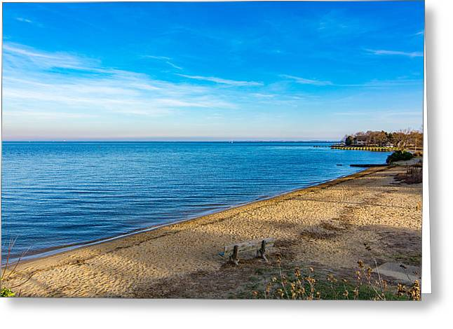 Hillsmere Beach On The Chesapeake Greeting Card