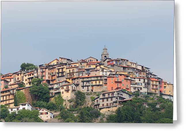 Hilltop Greeting Card by Richard Patmore