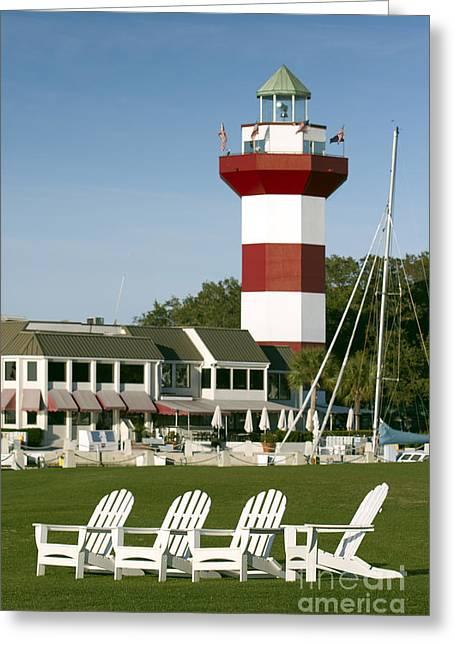 Hilton Head Island Lighthouse Greeting Card by Dustin K Ryan
