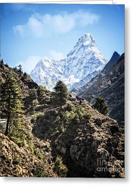 Himalaya Trail Greeting Card