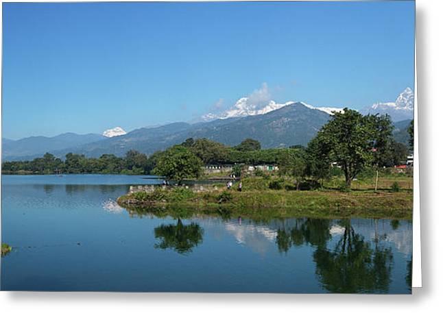 Himalayan Panorama Greeting Card