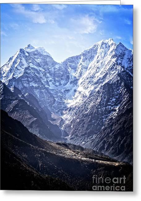 Himalayan Village Greeting Card
