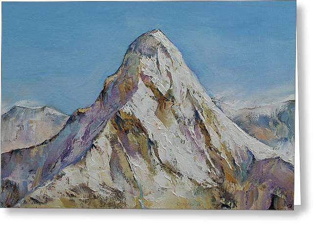 Himalayas Greeting Card by Michael Creese