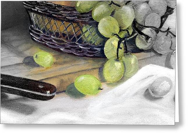Hint Of Color Greeting Card by Penny Everhart