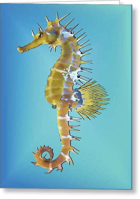 Hippocampus  Greeting Card