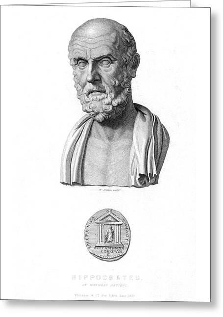 Hippocrates Greeting Card by Granger