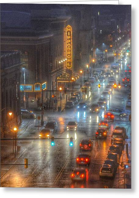 Hippodrome Theatre - Baltimore Greeting Card