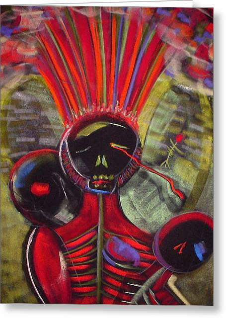 Tracey Levine Greeting Cards - Hiroshima Greeting Card by Tracey Levine