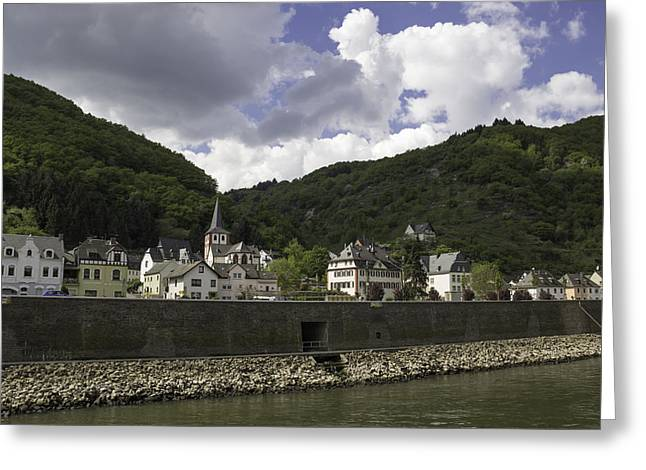 Hirzenach Germany 06 Greeting Card