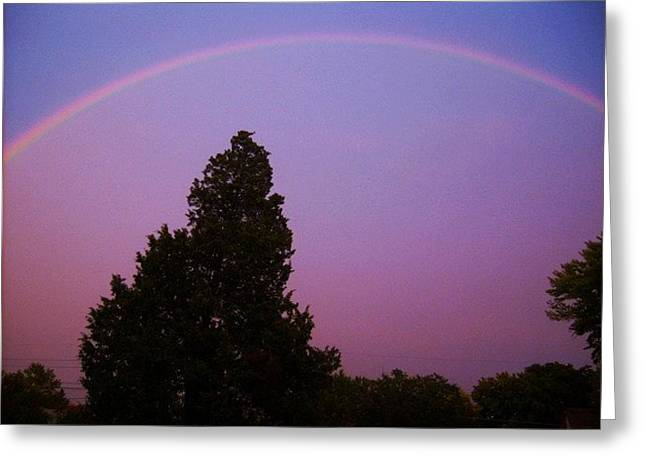 His Promise Greeting Card by Richard  Hubal