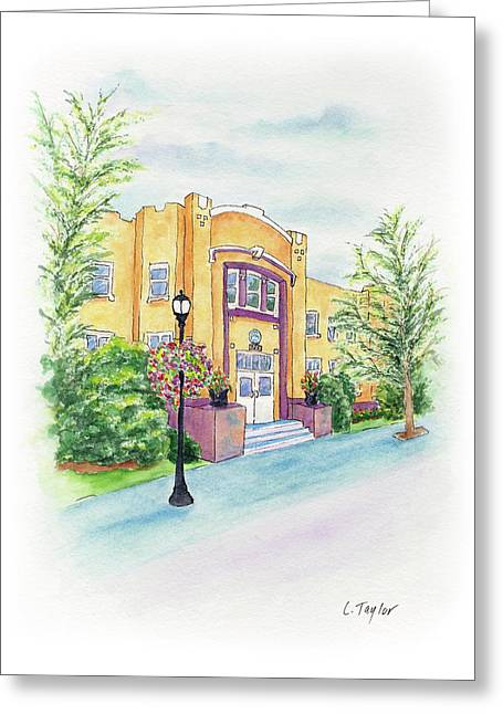 Historic Armory Greeting Card