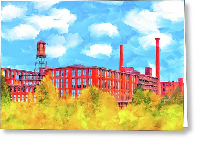 Historic Atlanta - Fulton Cotton Mill Greeting Card