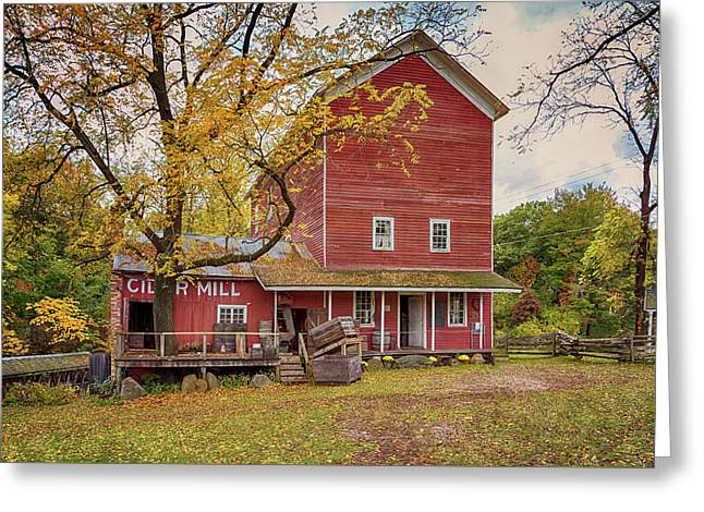 Greeting Card featuring the photograph Historic Bowens Mills by Susan Rissi Tregoning
