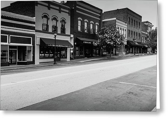 Historic Buford Downtown Area Greeting Card
