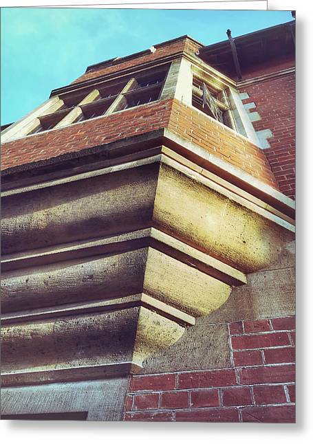 Historic Building Detail Greeting Card