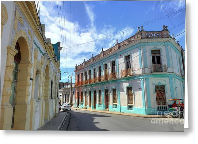 Historic Camaguey Cuba Prints 2 Greeting Card by Wayne Moran