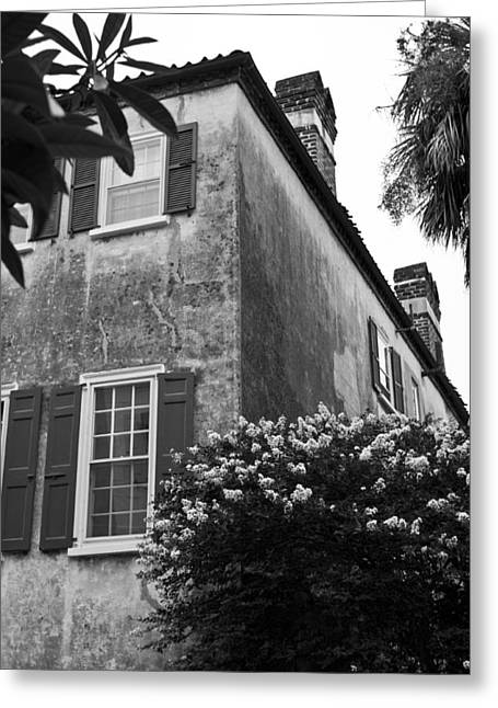 Historic Charleston Home Greeting Card