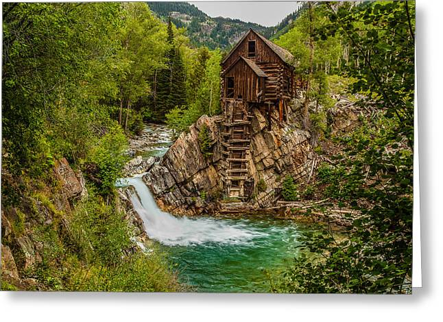 Historic Crystal River Mill  Greeting Card
