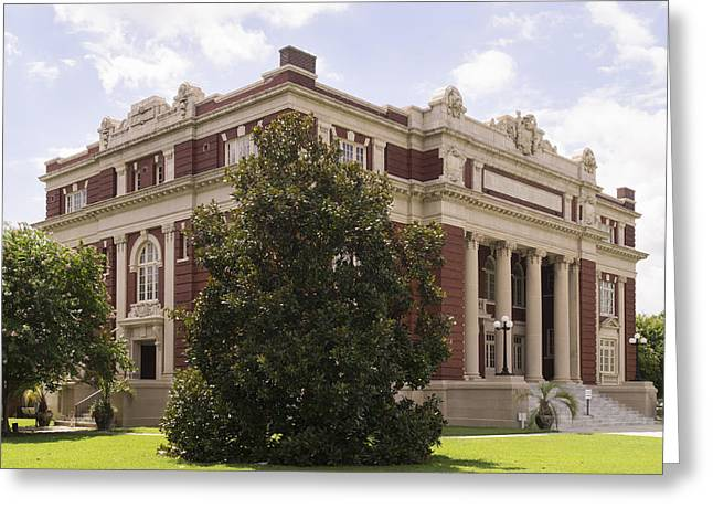 Historic Dillon County Sc Courthouse Greeting Card