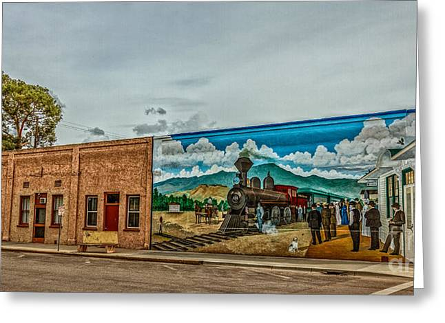 Historic Downtown Emmett 04 Greeting Card by Robert Bales