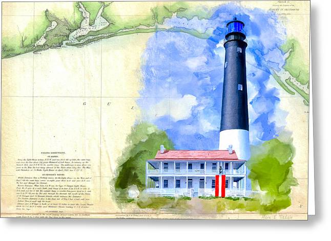 Historic Florida Panhandle - Pensacola Greeting Card