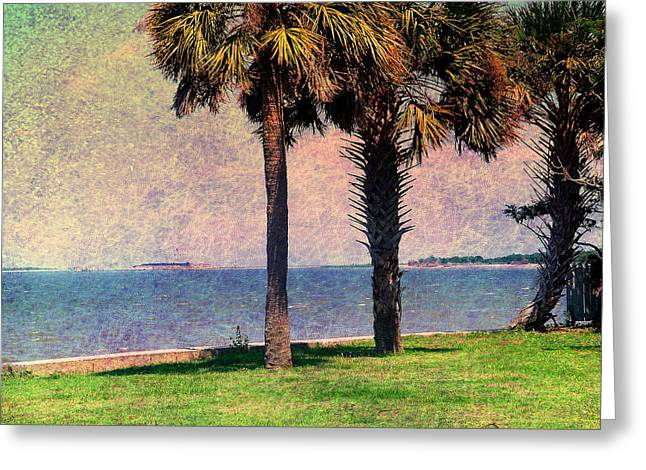 Historic Fort Sumter Charleston Sc Greeting Card by Susanne Van Hulst