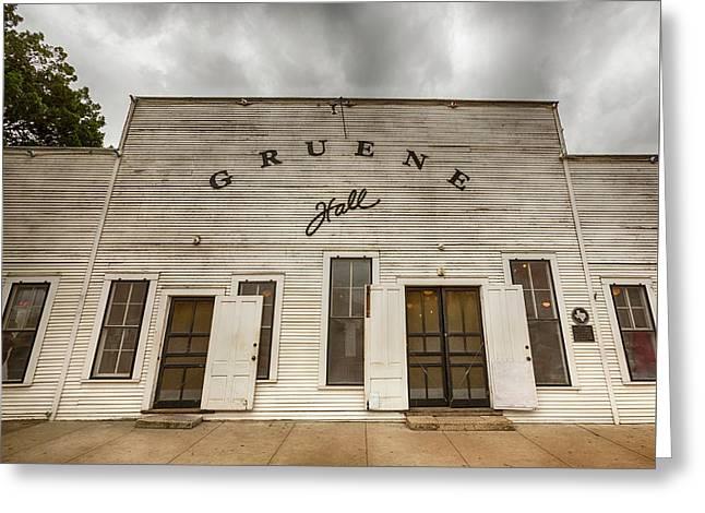 Historic Gruene Hall Greeting Card