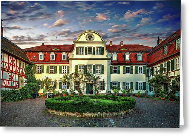 Historic Jestadt Castle Greeting Card