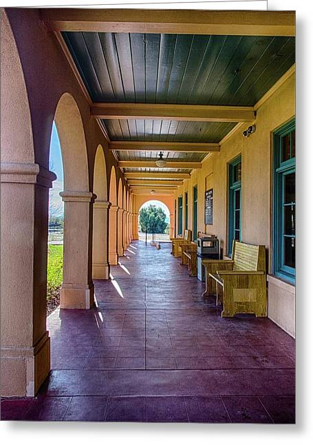 Historic Kelso Depot Greeting Card