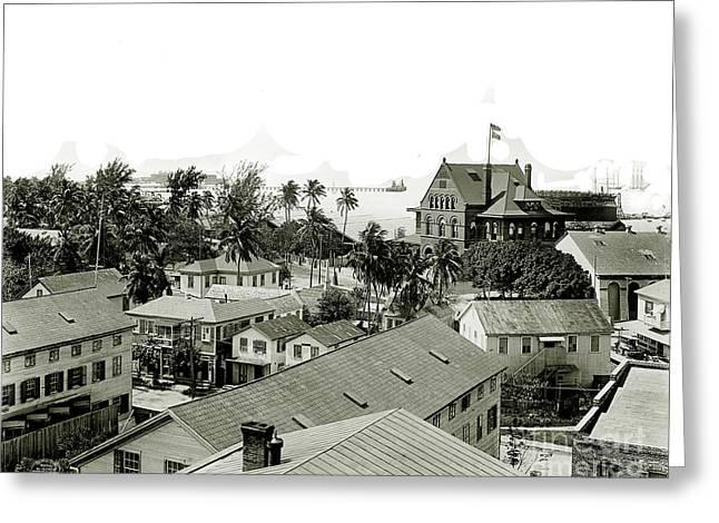 Historic Key West Greeting Card by Jon Neidert