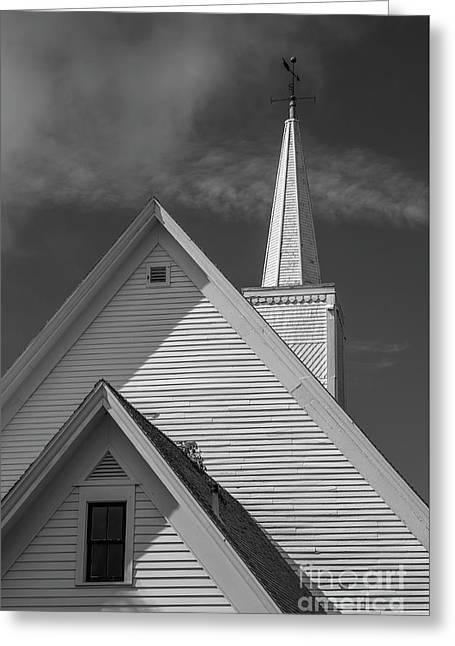 Historic Long River Church Avonlea Village Pei Greeting Card by Edward Fielding